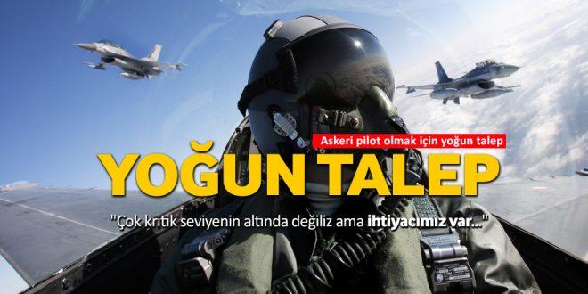 askeri pilot olmak