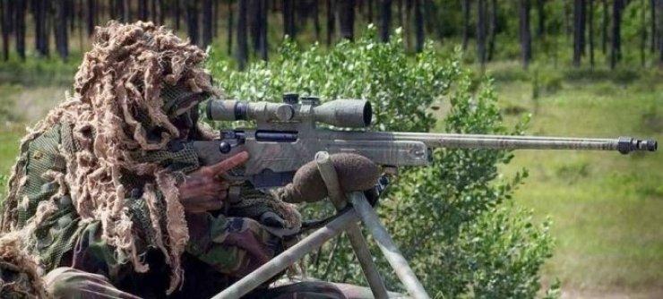 4- AWM Keskin Nişancı Tüfeği (İngiltere)