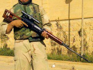 6- Dragunov SVD Keskin Nişancı Tüfeği (SSCB)