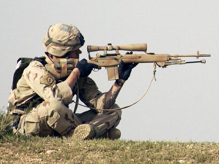 5- M21 Keskin Nişancı Tüfeği (ABD)