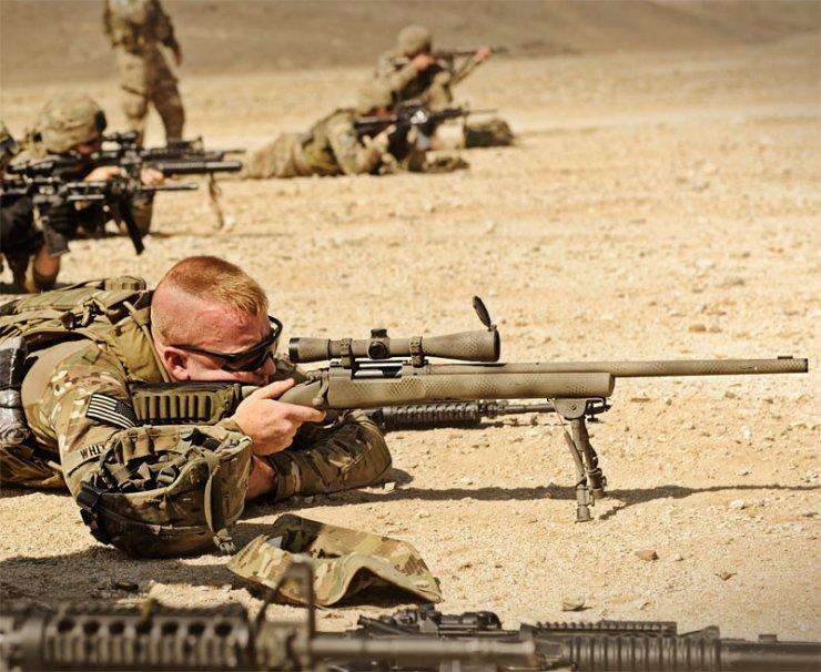 M-24 Keskin Nişancı Tüfeği (ABD)